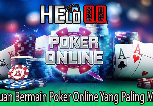 Panduan Bermain Poker Online Yang Paling Mudah